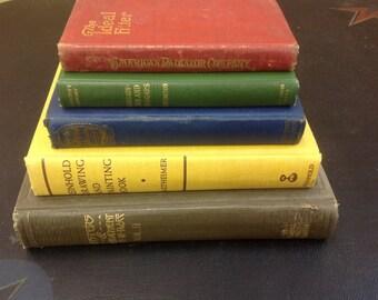 Decorative Hardback Vintage Books