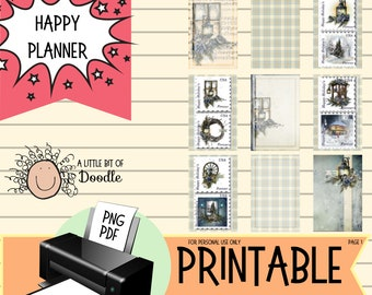Classic Happy Planner Holiday Stamps Se