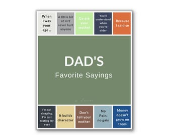Father S Day Gift Father Day Printable Father Day Art Etsy