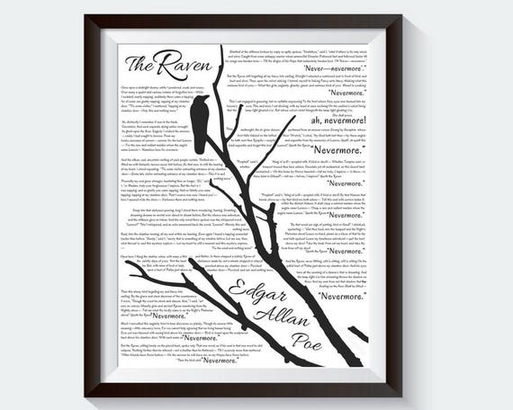 explanation of the poem the raven