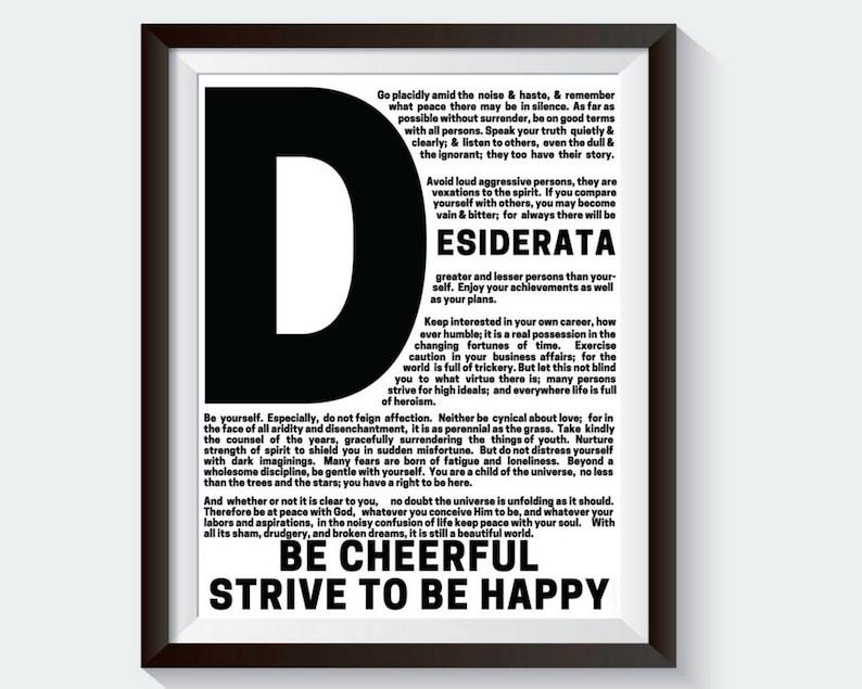 picture regarding Printable Desiderata known as Desiderata. Calligraphy. Desiderata Poem. Max Ehrmann. Desiderata Poster. Desiderata Printable. Finish Words. Famed Poems. Desiderata Term Artwork