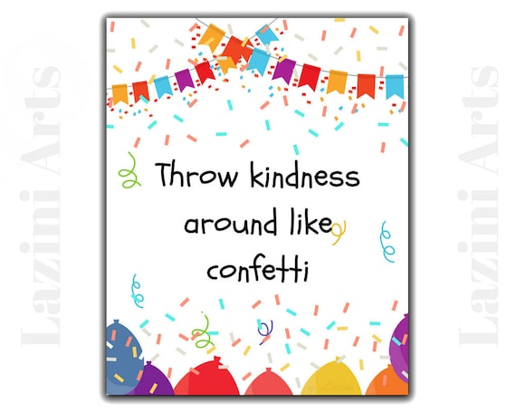 teen bedroom decor kindness quotes anti bullying classroom