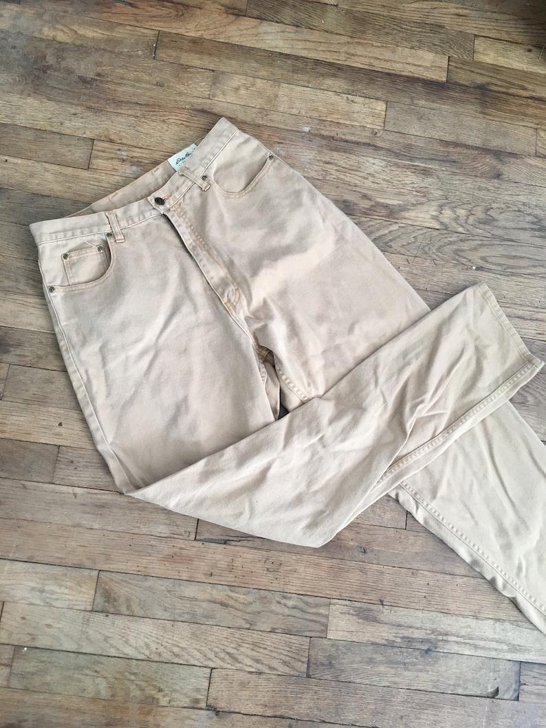 bbfd6d17f Classic Eddie Bauer Khaki Pants slacks womens 14 brown taupe | Etsy