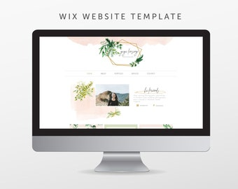 Wix Template Etsy - Wix ecommerce templates