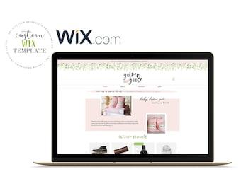 SALE Wix Template Website Theme Photography Portfolio   Etsy
