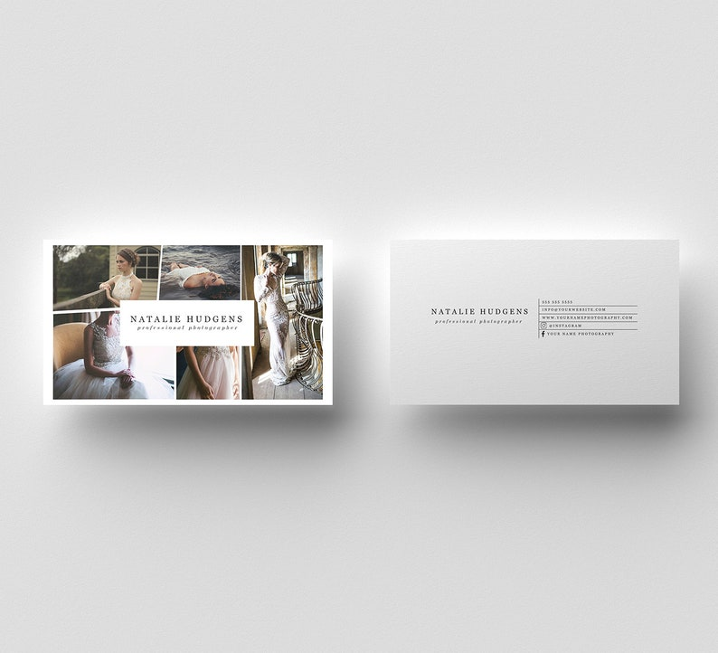 Photographie Carte De Visite Marketing Modele Psd
