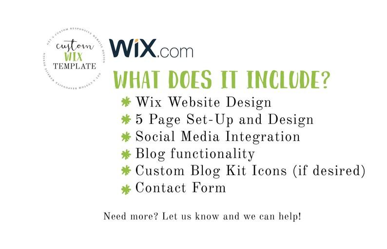 Wix Modèle MariageEtsy Site Custom Photographie Design deEQrxBWCo