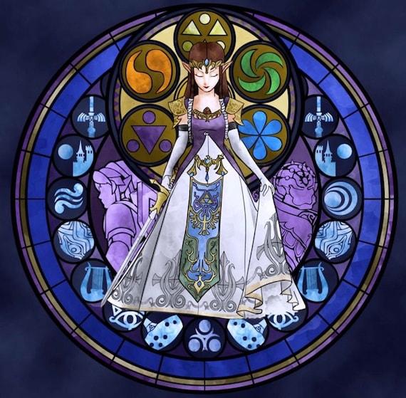 Legend Of Zelda Cross Stitch Digital Pattern Medallion