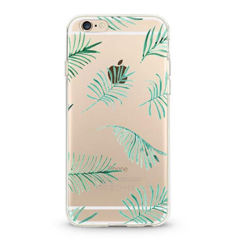 coque iphone 6 feuille palmier