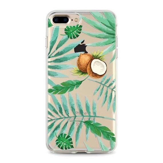 Noix de Coco Étui Iphone 6, coque Iphone 6s Étui Transparent