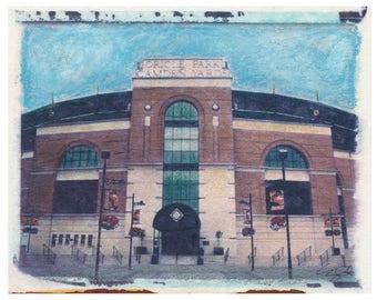 MLB BLT Orioles Camden Yards Polaroid Transfer Photo