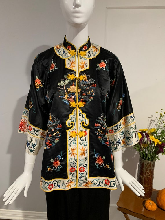 Antique Silk Chinese Jacket