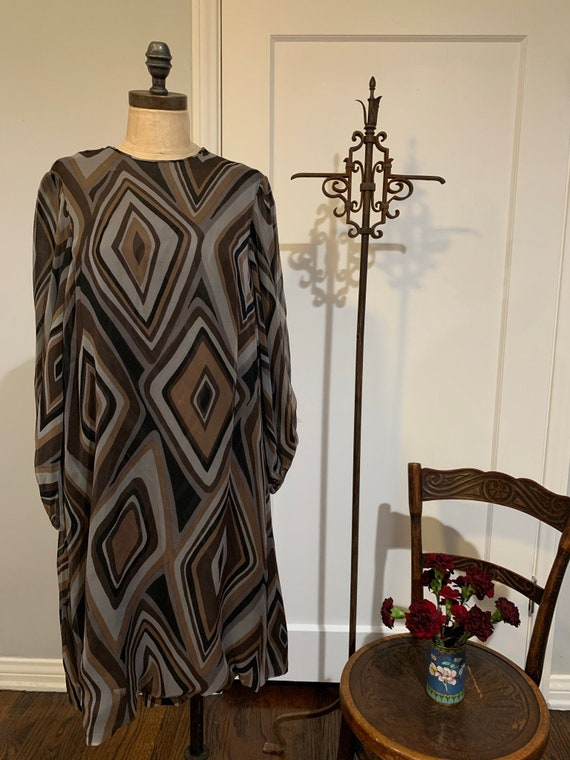 Vintage Silk I Magnin Dress