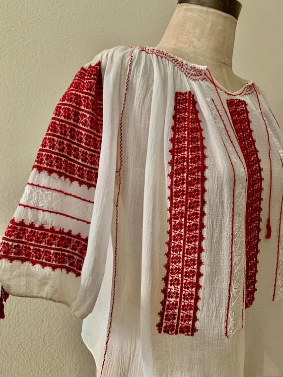 Vintage Hungarian Blouse
