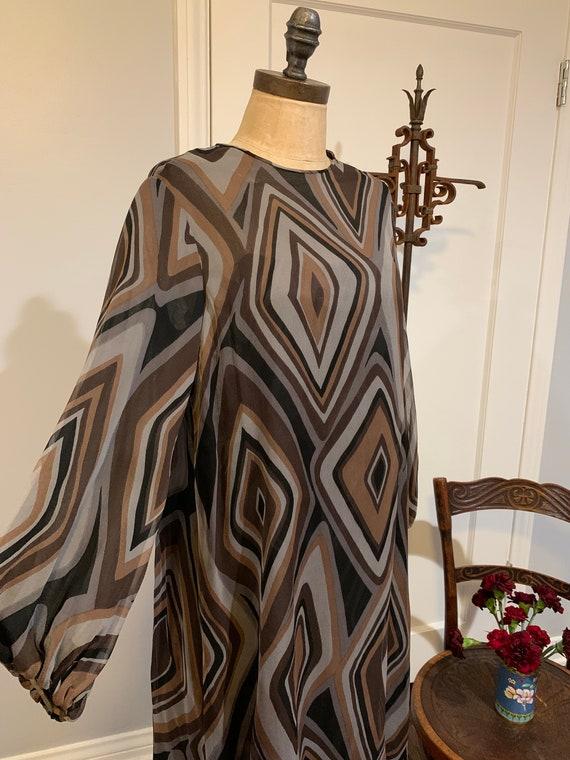 Vintage Silk I Magnin Dress - image 4