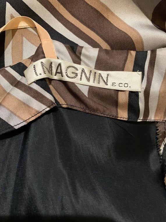 Vintage Silk I Magnin Dress - image 8