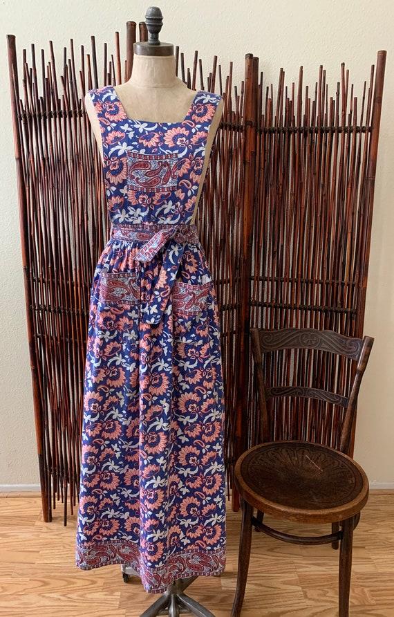 Vintage Apron Dress