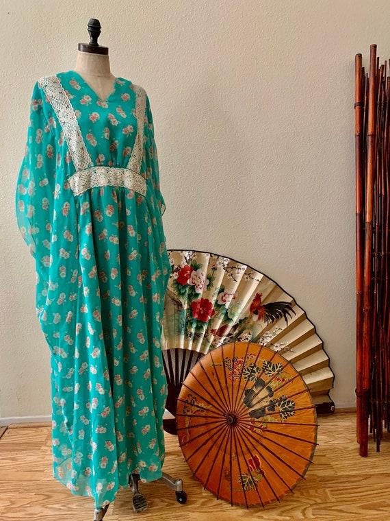 1970's Peasant Dress