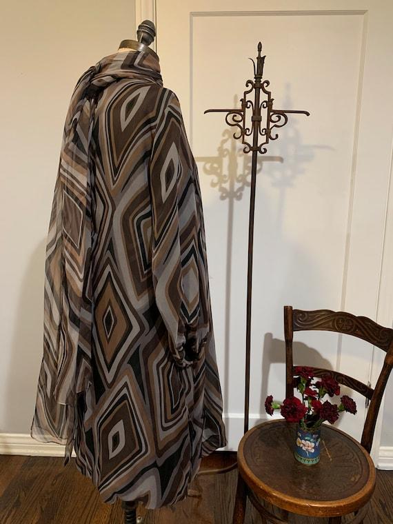 Vintage Silk I Magnin Dress - image 5