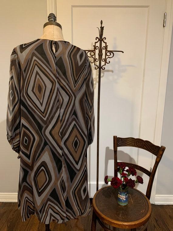 Vintage Silk I Magnin Dress - image 6