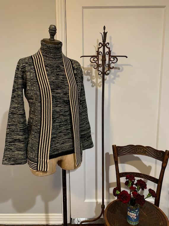 Vintage Cashmere Blend Knit Set