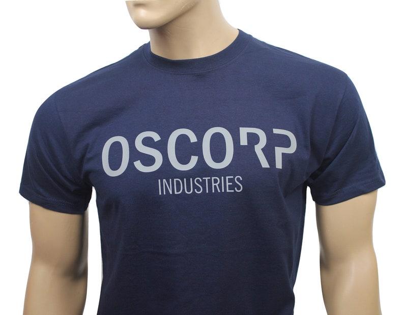 Spiderman inspired Oscorp Industries t-shirt