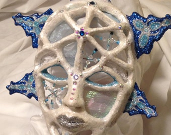 Decor Winter - Christmas Sculpture - Snowflake decorative mask-Free shipping