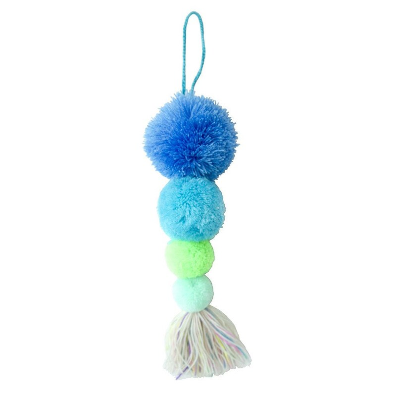 Pompoms Birthday Gift FREE SHIPPING! School accessory Pompoms Tassel Bag accessory Christmas Gift Stocking Stuffers