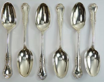 "Dessert Spoon // Spoons 7 1//4/"" CHESTERFIELD MAPPIN /& WEBB Cutlery"
