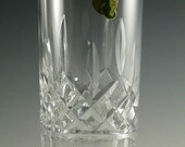 WATERFORD Crystal - LISMORE Cut - Highball Tumbler Glass Glasses - 5 5 8 quot