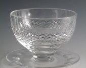 WATERFORD Crystal - COLLEEN Cut - Sundae Dish Glass Glasses - 3 quot