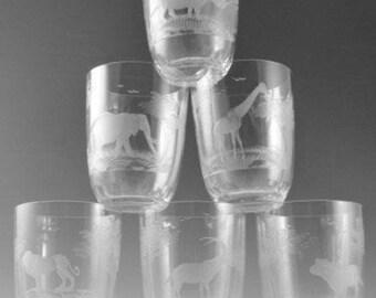 Moser glasses | Etsy