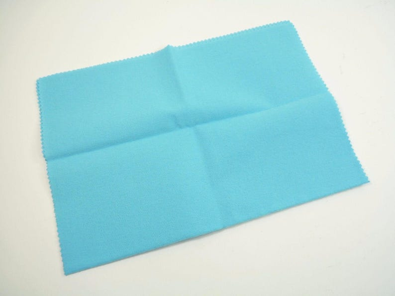 SILVER or PLATED Cutlery Anti-Tarnish Cleaning CLOTH