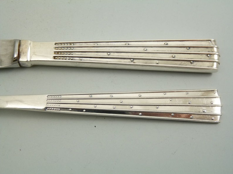 JENS H QUISTGAARD Cutlery small spoon  spoons Silver champagne 6