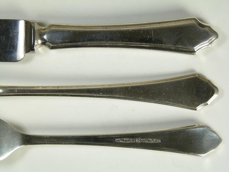 PEMBURY Pattern MAPPIN /& WEBB Cutlery 5 12 Gilt Grapefruit Spoon  Spoons