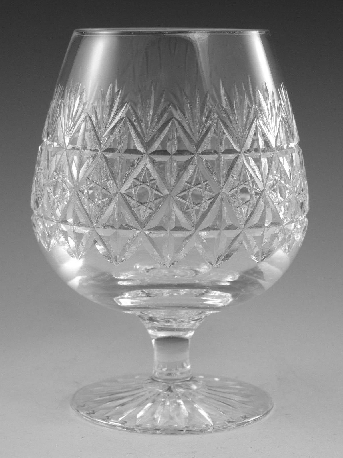 1st Thomas Webb Crystal Normandy Sherry Glass 4 3//4