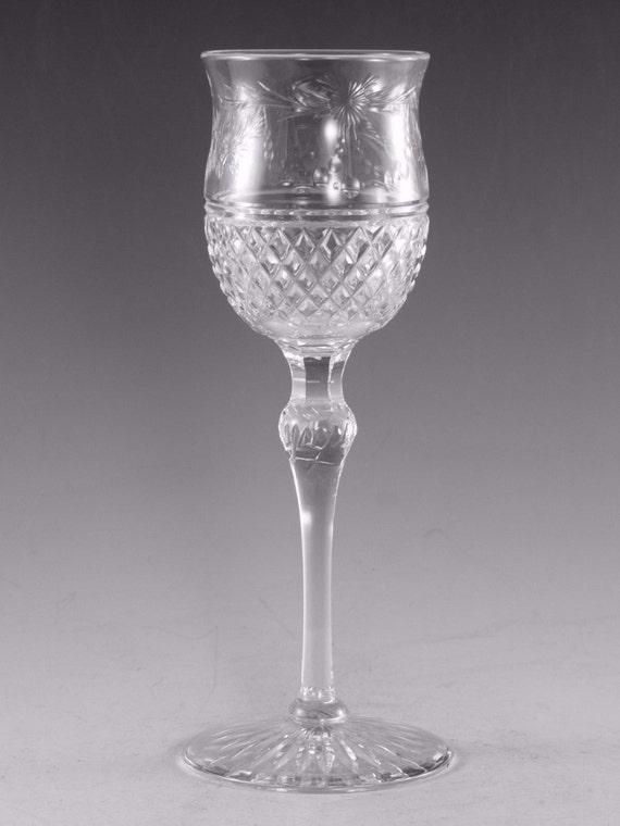 19 cm Wine Glass // Glasses SHARON Pattern 2nd DARTINGTON Crystal