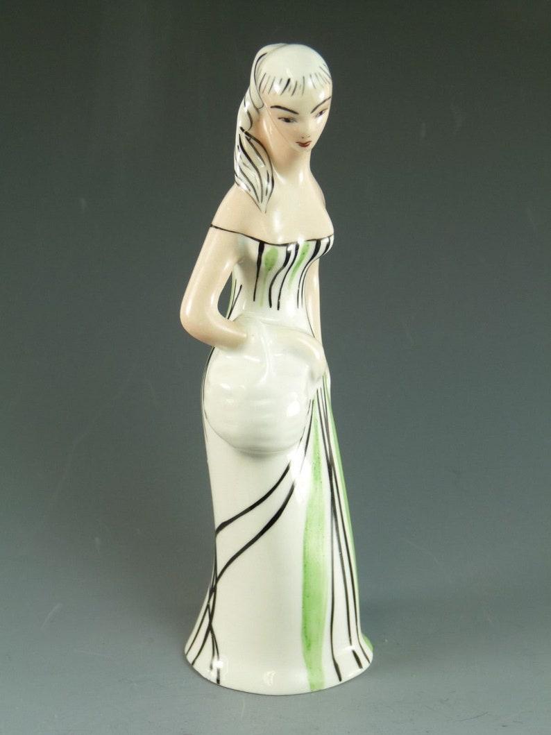 18 cm Unusual Figure CMIELOW Pottery Poland