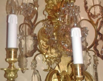 spare parts for chandeliers with broken pieces Rose drops 16 cm