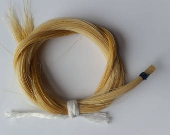 Mongolian Horse Hair Hank for Bow rehair violin viola cello
