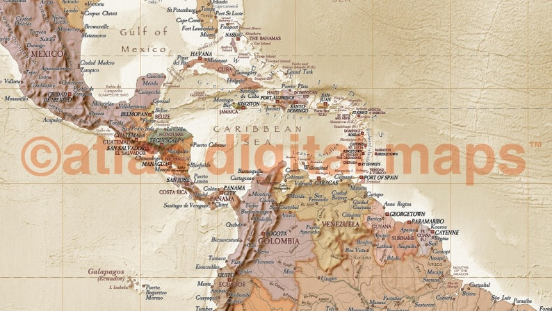 Sand Beige Antique World Map Vintage World Map Mural Large Physical /& Political Map of the World Wall Map Sand VinylLge