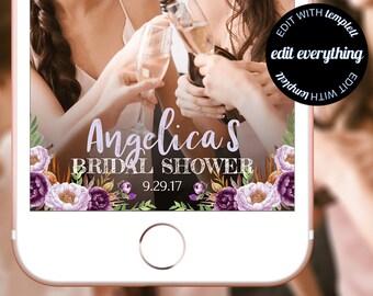 Bridal Shower Snapchat Geofilter - Snapchat Bridal Shower filter - Bridal Shower Geofilter - Bridal Shower Snapchat filter Custom Geofilter