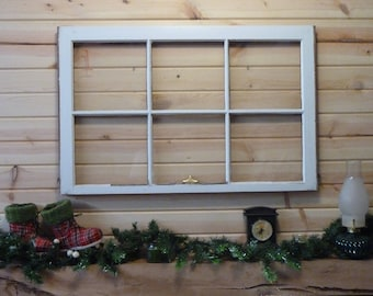 Vintage window sash (1950's) 23'x36""