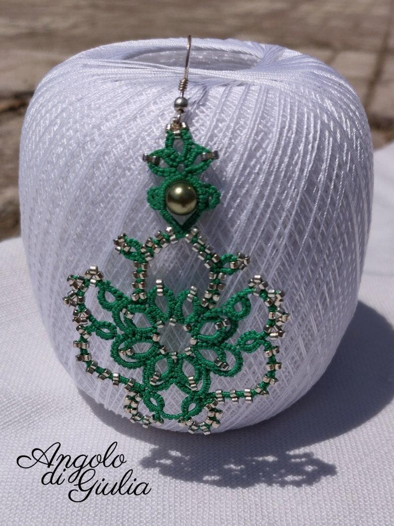 Serpeverde earrings in chatter image 0