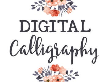 Digital Calligraphy Service for Invitation Envelopes | Set of 10 | PRINTED