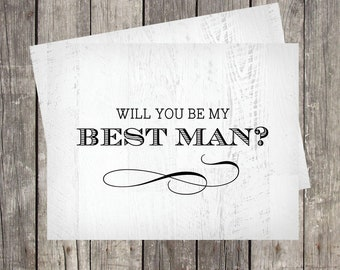 Will You Be My Best Man, Card For Best Man, Best Man Proposal Card, Best Man Request Cards, Be My Best Man, Wedding Card For Best Friend