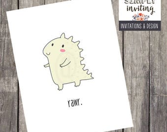 Cartoon Critters Stationery Note Cards| Set of 10 | Funny Greeting Card Notes | Gift for Teens | Birthday Gift Set | PRINTED