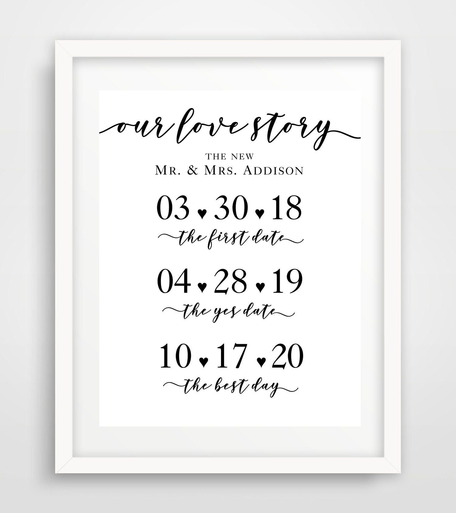 image relating to Wedding Sign Printable known as Our Get pleasure from Tale Wedding ceremony Indication, Printable Marriage Reception