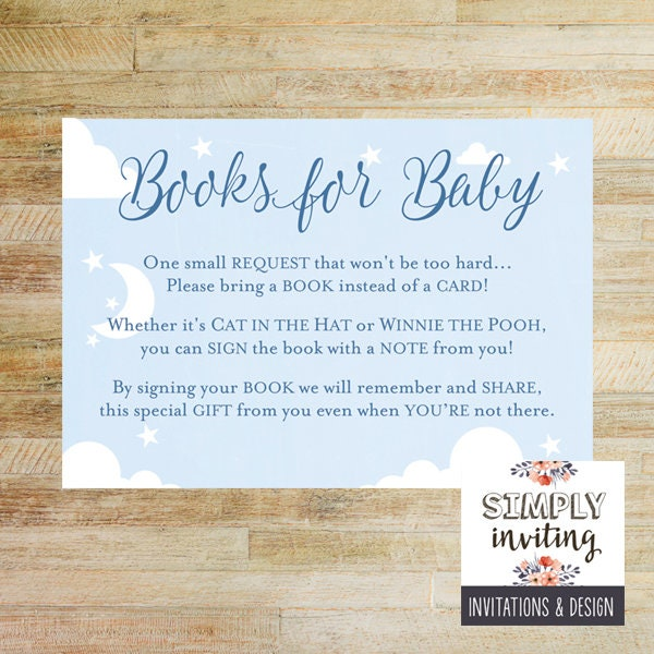 graphic regarding Bring a Book Instead of a Card Printable titled Publications for Youngster Poem Card Child Shower Printables Carry a