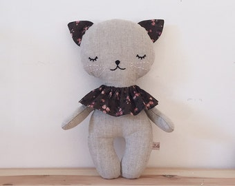 sweet birthday toy rabbit minimalist gift for birth LAPINDOUX child room birthday baby stuffed Bunny